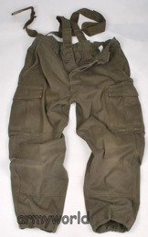 Military Austrian Trousers With Braces Original Used