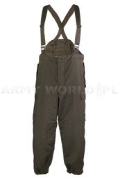 Military Austrian Warmed Trousers Original Demobil