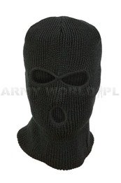 Military Balaclava Acrylic Mil-tec Black Paintball ASG QUAD New