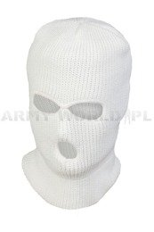 Military Balaclava Acrylic Mil-tec White Paintball ASG QUAD New