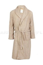 Military Bathrobe Polish Army Khaki Original New