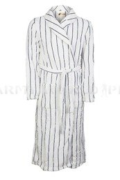 Military Bathrobe Polish Army White-Blue Original New