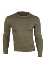 Military British Thermoactive Shirt Long Sleeves Oliv Original New