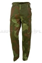 Military Cargo Pants Ranger Type BDU Norwegian Camouflage - New