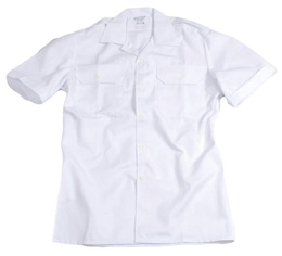 Military Dutch Gala Shirt White Original New