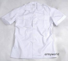 Military Dutch Gala Shirt White Original Used