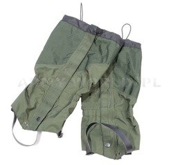 Military Dutch Protectors/Gaiters Oliv Original New