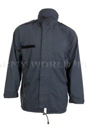Military Dutch Rainproof Jacket Navy Blue Original Used II Quality