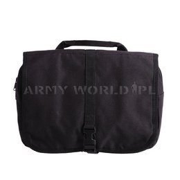 Military Dutch Toiletry Bag Black Original Demobil