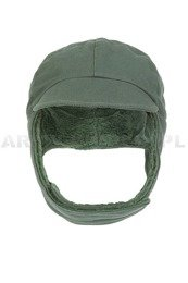 Military Dutch Ushanka Cap Dark Green New