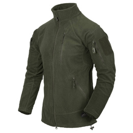 Military Fleece Jacket Helikon Alpha Tactical Oliv Green New