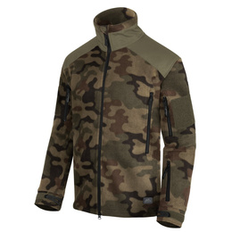 Military Fleece Jacket Helikon Liberty 390g PL Camo New