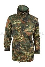 Military Jacket Parka Bundeswehr Flecktarn Original Demobil SecondHand