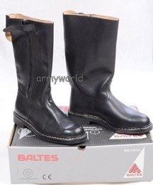 Military Leather Jackboots BALTES With Zipper Original New