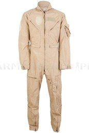 Military Pilot Coveralls Nomex US ARMY CWU-27/P Flame-retendant Creamy Demobil