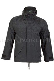 Military Rainproof Jacket With Liner Black New