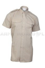 Military Shirt FAWN ARMY ALL RANKS Original Short Sleeves Khaki New