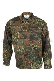 Military Shirt Flecktarn Bundeswehr ASG Paintball Original Demobil - Set of 10 pieces