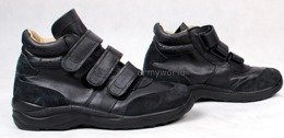 Military Shoes of Aviation Service Bundeswehr With Velcro Original Actual Version Demobil II Quality