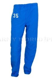 Military Sweatpants DeLong With Number Navy Blue Original Demobil