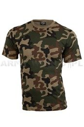 Military T-shirt PL Camo Short Sleeves Mil-tec New