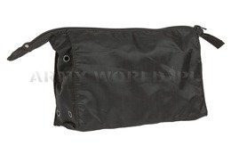 Military Toiletry Bag Bundeswehr Cordura Black Original Demobil