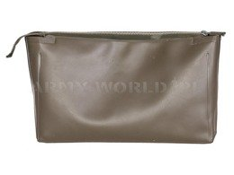 Military Toiletry Bag Bundeswehr PVC Oliv Original Demobil
