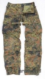 Military Trousers KSK Special Forces Bundeswehr To the waist Flecktarn Original Demobil SecondHAnd