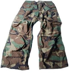 Military Trousers M65 US Army Woodland  Original Demobil