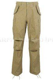 Military Trousers Model M65 Oliv Nyco Teesar New