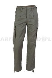 Military Trousers Moleskin Bundeswehr Oliv Original New