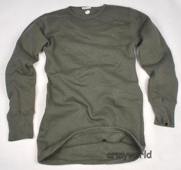 Military Undershirt French Oliv Original New