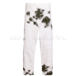Military Winter Trousers Bundeswehr Masking Reversible Trousers Original Demobil