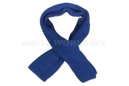 Military Woolen Scarf Dutch Army Blue Original New
