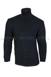 Military Woolen Sweater Polish 501/MON Original Navy Blue New