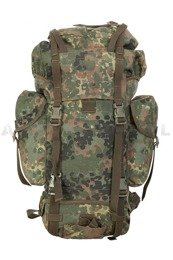 Military backpack 65L Flecktarn BW Bundeswehr Original Cordura Demobil SecondHand
