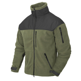 Military fleece jacket CLASSIC Helikon-Tex Oliv-black new