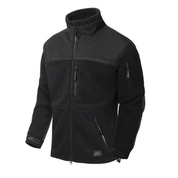 Military fleece jacket New Infantry Helikon-tex Czarny  Oryginał New