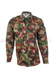 Militrary Swiss Shirt TASS 57 Original Demobil
