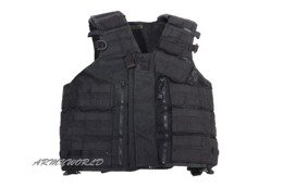 Modular Tactical Vest Black Special Forces KSK Bundeswehr Original Demobil
