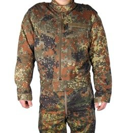 Motorcycle Jacket Kard Flecktarn With Protective Pads Original Demobil