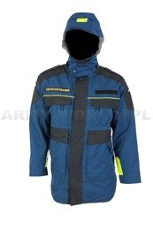 Navy Jacket Flame-resistant Dark Blue&Black Warmed BundesMarine Original Demobil