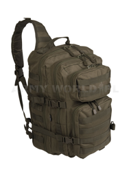 One Strap Backpack US Assault Pack LG Oliv New