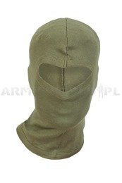 One-hole cotton balaclava Mil-tec New Model Oliv