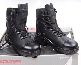 Police Shoes X-TREK   S3 Leather BALTES SYMPATEX  Demobil - With Fur Lining
