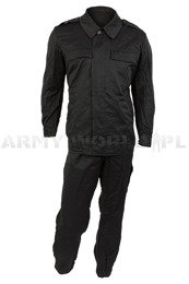 Polish Army Tankman Suit Black 2-pieces Original New