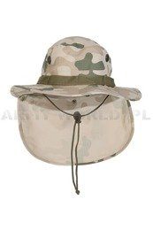 Polish Military Hat PL Desert Ripstop Original New