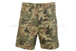 Polish Military Tropic Shorts124/MON Pl Camo Oryginal Military Surplus