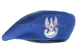 Polish military beret Blue Original New