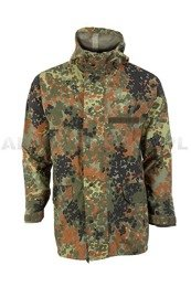 Rainproof Jacket  Gore-Tex Flecktarn Bundeswehr Original Demobil